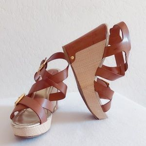 🌹CLEARANCE🌹 Liz Claiborne Wedge Sandals Size 6